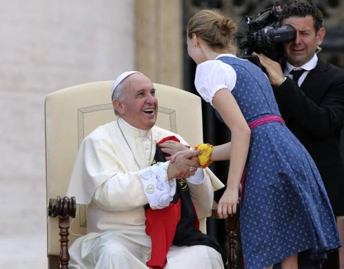 pope Francis – witnesses of freedom